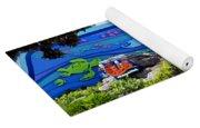 Living Seas Signage Walt Disney World Yoga Mat