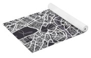 London Map Art Yoga Mat