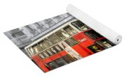 London With A Touch Of Colour Yoga Mat