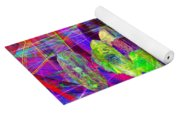 Lost In Abstract Space 20130611 Long Version Yoga Mat