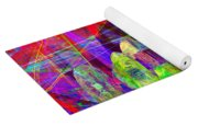 Lost In Abstract Space 20130611 Yoga Mat