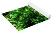 Lungwort Leaves Abstract Yoga Mat