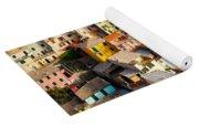 Manarola Town Yoga Mat