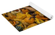 Many Colorful Gourds Yoga Mat