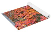 Maple Rush In The Fall Yoga Mat