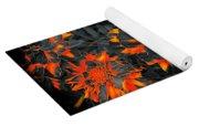 Marigold Fire Yoga Mat