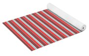 Marsala Stripe 2 Yoga Mat