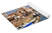 Marseillan Harbour Yoga Mat