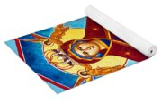 Mary And The Holy Church Yoga Mat
