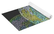 Maze You Cant Get There From Here Yoga Mat