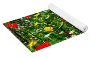 Meadow Flowers - Digital Oil Yoga Mat