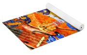 Melodies And Sunset Seas Yoga Mat