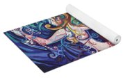 Mermaid Gargoyle Yoga Mat