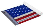 Metal American Flag Yoga Mat