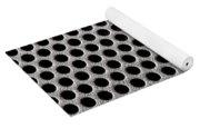 Metal Grill Dot Pattern Yoga Mat