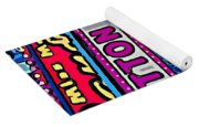 Miss Maggie's Pig Out Palace 2 Yoga Mat