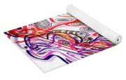 Modern Drawing Sixty-three Yoga Mat