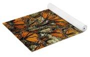 Monarch Butterflies Wintering Yoga Mat