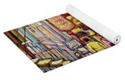 Montreal Streetscenes By Cityscene Artist Carole Spandau Over 500 Montreal Canvas Prints To Choose  Yoga Mat