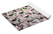More Snowmen Yoga Mat
