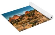 Morning Light At Garden Of The Gods Yoga Mat