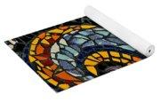 Mosaic Pattern On Wall Yoga Mat