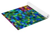 Mosaic Tile Cross Yoga Mat