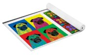 Moses Collage Yoga Mat