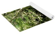 Moss And Stones By The Turquoise Forest Pond On A Summer Day No4 Yoga Mat