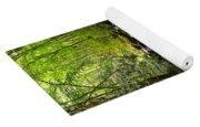 Mossy Mountain Stream Yoga Mat