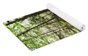 Mossy Rocks In The Forest Yoga Mat