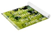 Most Powerful Prayer With Ladies Mantle Yoga Mat