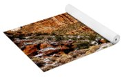 Mountain In Winter Yoga Mat