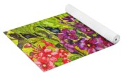 Mountain Wild Flowers Yoga Mat