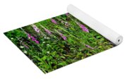 Mountain Wildflowers Yoga Mat