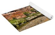 Mountains And Virgin River - Zion Yoga Mat
