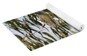 Mourning Doves Landing In Eucalyptus  Yoga Mat