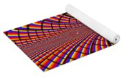 Multicolored Abstract Yoga Mat