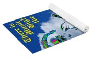 Music Up In The Clouds Again Yoga Mat