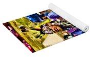 Native American Elder Yoga Mat