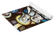Nativity Stained Glass Yoga Mat