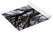 Nature's Canvas On A Wintry Day Yoga Mat
