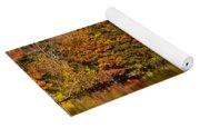 Natures Colorful Autumn Yoga Mat