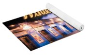 New York City - Broadway Lights And Times Square Yoga Mat