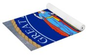 New York State Seal Yoga Mat