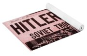 News From The Past Hitler Is Dead Yoga Mat