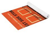 No387 My West Side Story Minimal Movie Poster Yoga Mat