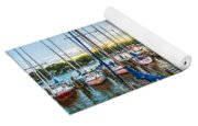 Oak Pt Harbor At Sundown Yoga Mat
