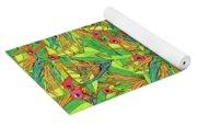 Odd Birds Of Paradise Yoga Mat