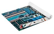 Off Shore Fishing Yoga Mat